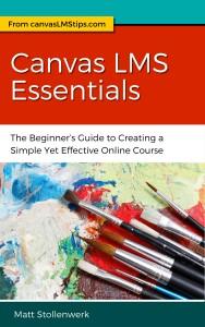 Canvas LMS_Essentials ebook cover